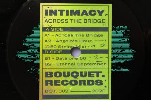Intimacy – Datalore66 [Bouquet Records]